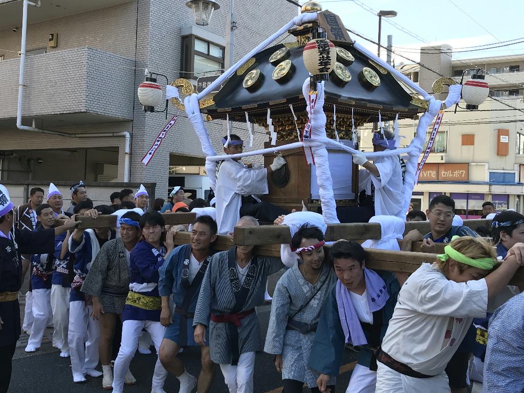 國領神社 神輿